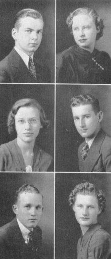 Class Of 1939 David H Hickman High School