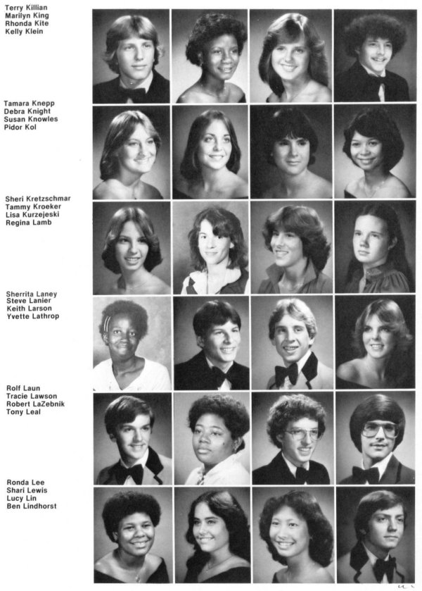 Class Of 1980 David H Hickman High School